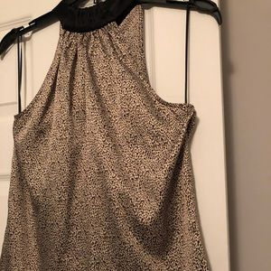 Leopard print top - The Limited